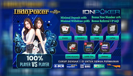 Deposit Poker IDN Ovo 10 Ribu Paling Mudah